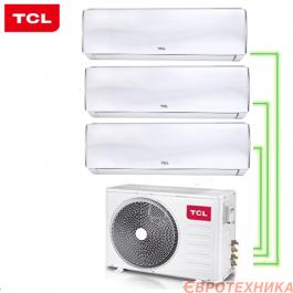 Кондиционер TCL FMA-27I3HD/DVO + FMA-09CHSD/DVI + FMA-09CHSD/DVI + FMA-12CHSD/DVI
